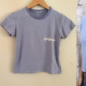 Brandy Melville California Crop top